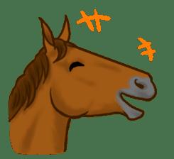 Horses Sticker sticker #934055