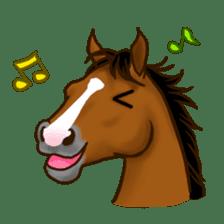 Horses Sticker sticker #934056