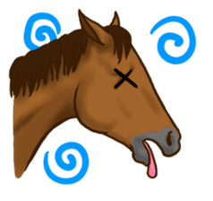 Horses Sticker sticker #934057