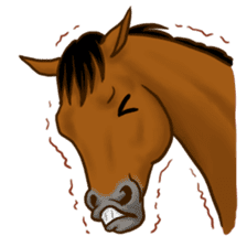 Horses Sticker sticker #934058
