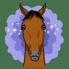 Horses Sticker sticker #934059