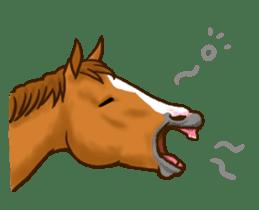 Horses Sticker sticker #934061