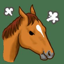 Horses Sticker sticker #934064