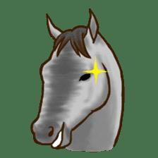 Horses Sticker sticker #934065