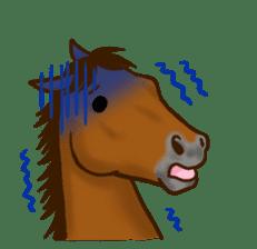 Horses Sticker sticker #934067