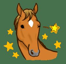 Horses Sticker sticker #934071