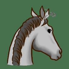 Horses Sticker sticker #934072