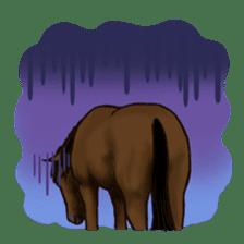 Horses Sticker sticker #934075