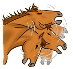 Horses Sticker sticker #934076