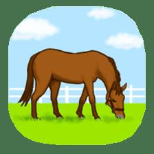 Horses Sticker sticker #934078