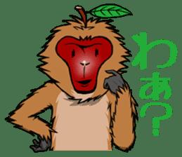 Japanese Macaque!? sticker #934681