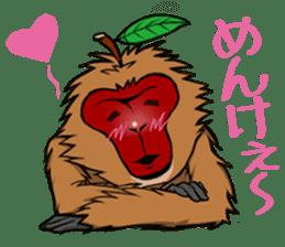 Japanese Macaque!? sticker #934690
