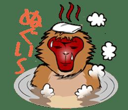 Japanese Macaque!? sticker #934692