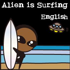 Alien is Surfing