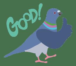 Japanese wild birds sticker #935087