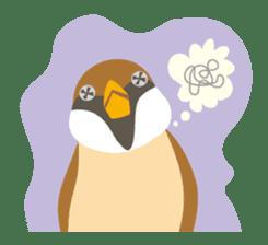 Japanese wild birds sticker #935089