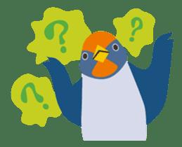 Japanese wild birds sticker #935104