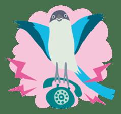 Japanese wild birds sticker #935105