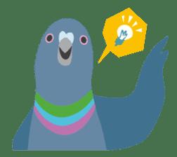 Japanese wild birds sticker #935106