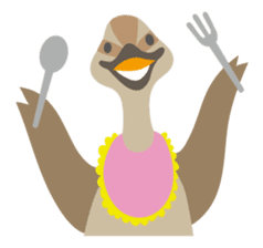 Japanese wild birds sticker #935111