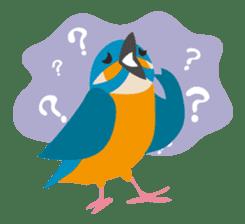 Japanese wild birds sticker #935113