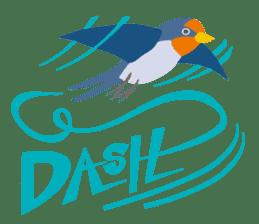 Japanese wild birds sticker #935117