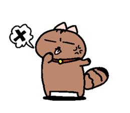 The name of a cat is a micro. sticker #935972