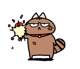 The name of a cat is a micro. sticker #935981
