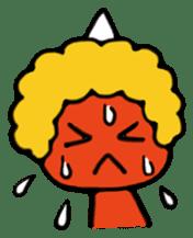 A demon's child,Mela sticker #936561