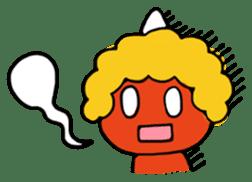 A demon's child,Mela sticker #936562