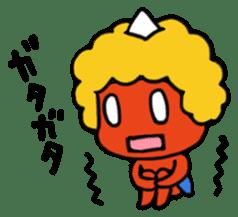 A demon's child,Mela sticker #936572