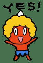 A demon's child,Mela sticker #936573