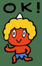 A demon's child,Mela sticker #936575