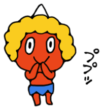 A demon's child,Mela sticker #936578