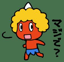 A demon's child,Mela sticker #936580