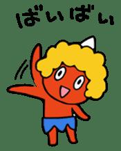 A demon's child,Mela sticker #936581