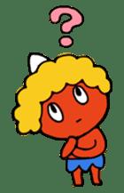 A demon's child,Mela sticker #936591