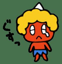 A demon's child,Mela sticker #936592