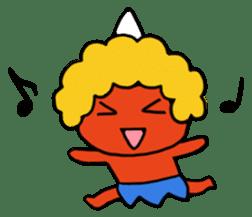 A demon's child,Mela sticker #936594