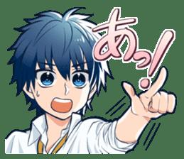hitokotodanshi sticker #937210