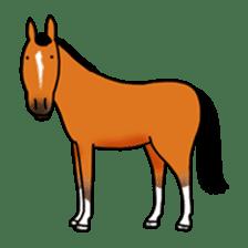 Juri Ogawa's HORSE Stickers sticker #937279