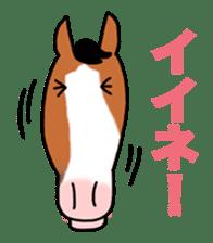Juri Ogawa's HORSE Stickers sticker #937289