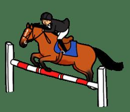 Juri Ogawa's HORSE Stickers sticker #937292