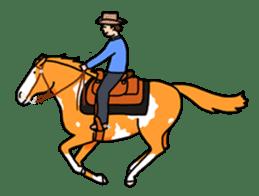 Juri Ogawa's HORSE Stickers sticker #937293