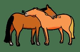 Juri Ogawa's HORSE Stickers sticker #937296