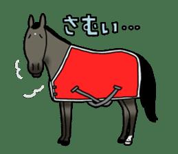 Juri Ogawa's HORSE Stickers sticker #937300