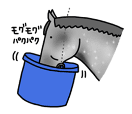 Juri Ogawa's HORSE Stickers sticker #937301