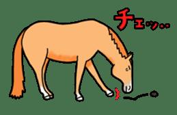 Juri Ogawa's HORSE Stickers sticker #937302