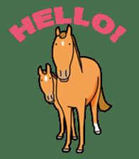 Juri Ogawa's HORSE Stickers sticker #937307