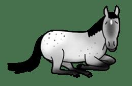 Juri Ogawa's HORSE Stickers sticker #937313